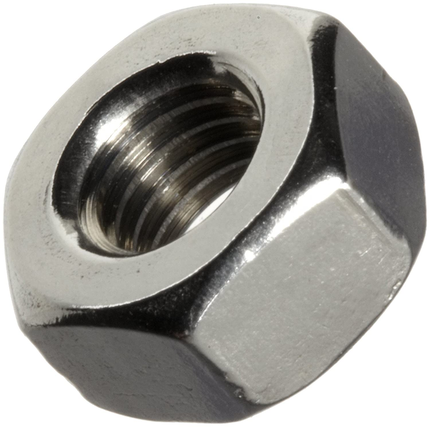 Pack of 25 Right Hand Threads 1//4-20 Threads Nickel-Based Alloy Hex Nut