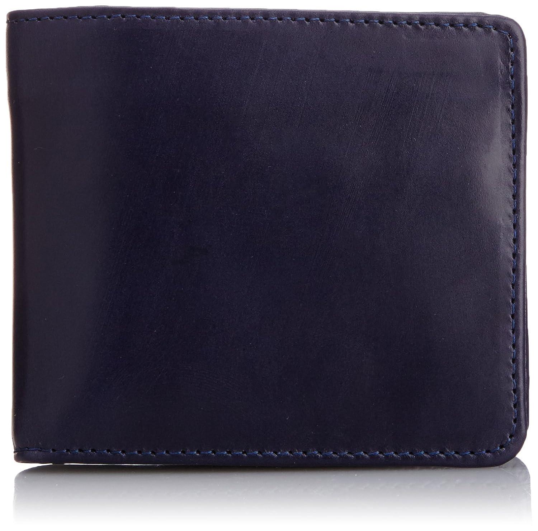 [グレンロイヤル] 二つ折り財布 HIP WALLET WITH DIVIDER 03-6171 B00XBV467Sダークブルー