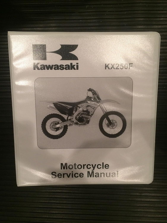 Kawasaki 2011 2012 KX250F Service Repair Manual Book Service, Accessory  Lighting & Kits - Amazon Canada