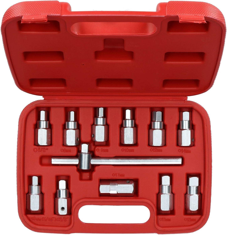 Bouchon de vidange Puisard Key Axle R/éparation changement dhuile Kit 3//812pcs