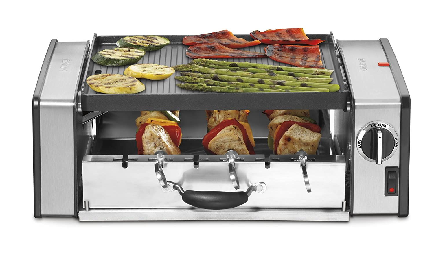 Cuisinart GC-15 Griddler 1000-Watt Compact Grill Centro DISCONTINUED BY MANUFACTURER