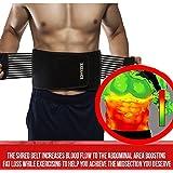 Thermogenic Waist Trimmer Belt, Belly Fat Burner, Weight Loss, Spot Reduction Belt, Waist Slimmer