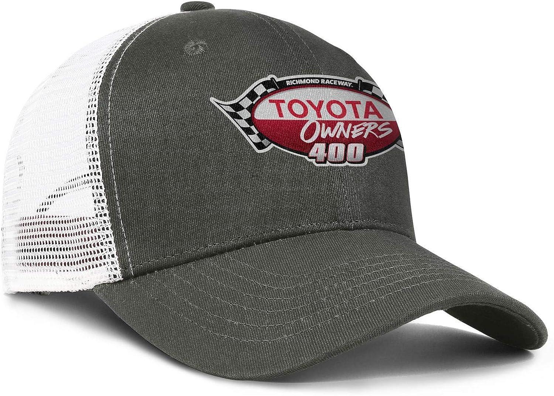 Cotton Baseball Caps Toyota-Logo Snapback Classic Mesh Hat