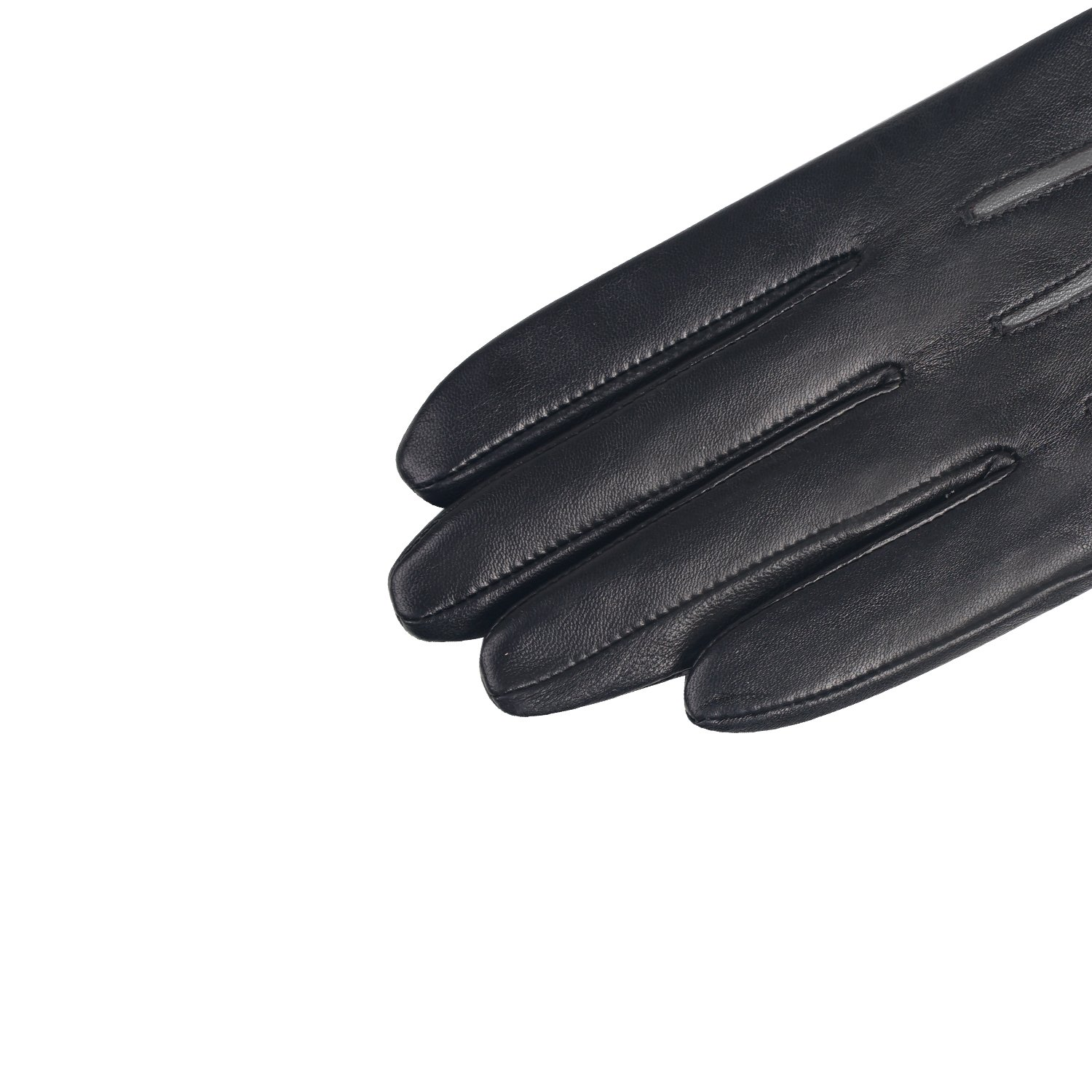 GSG Womens Feminine Colorblock Bow Touchscreen Driving Gloves Ladies Genuine Leather Warm Outdoor Gloves Winter Nice Gifts Black 7 by GSG (Image #5)