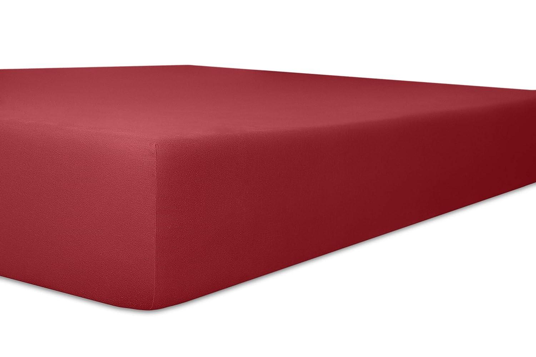 Kneer 2231811 Vario-Stretch Topper-Spannbetttuch für Boxspringbetten 180 200 cm, cm, cm, Höhe 4-12 cm, hellgrau c21f10