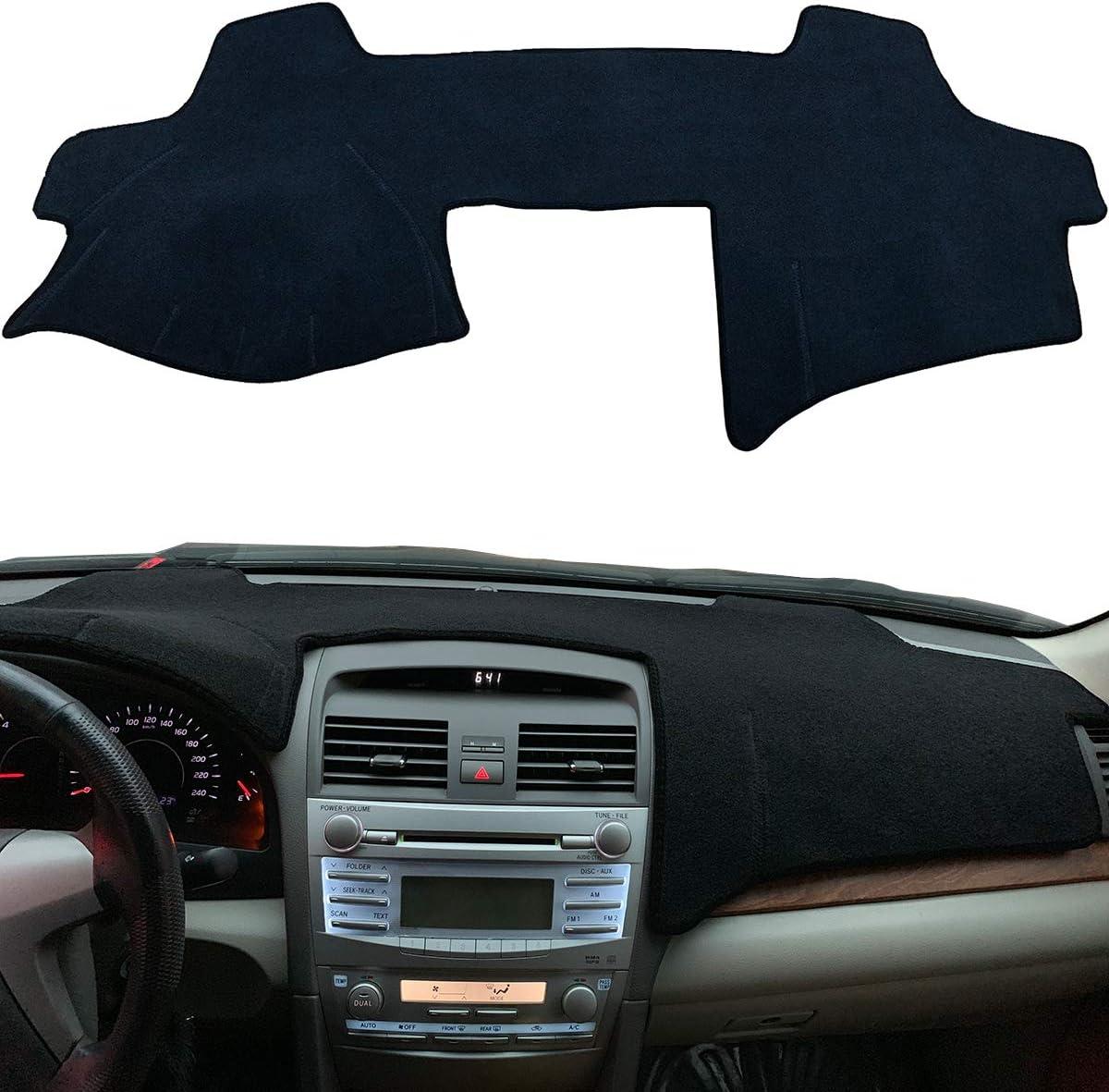 FJSa Car Dashboard Cover Sun Mat Dash Protector Sunshield Pad for Toyota Camry 2011-2017