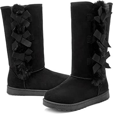 Winter Snow Boots for Women Mid-Calf
