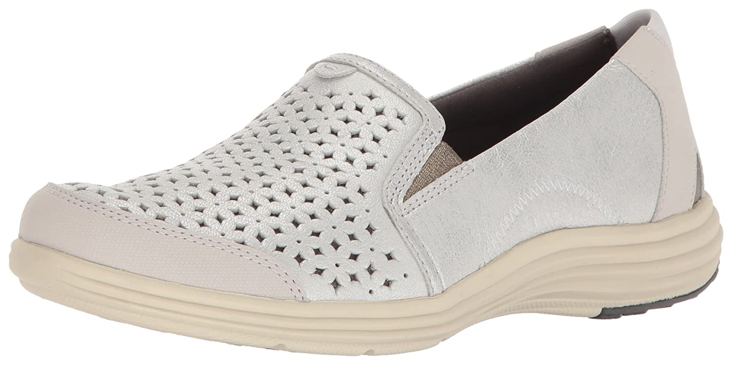Aravon Women's Bonnie-Ar Fashion Sneaker B01ITRWAGC 9.5 2A US|Silver