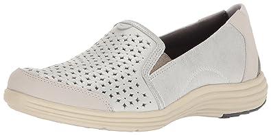 938d06ab2 Amazon.com | Aravon Women's Bonnie-AR Fashion Sneaker, Silver, 8 D ...