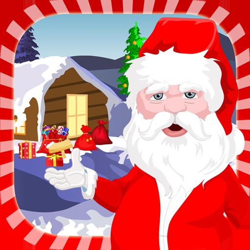 Gingerbread Man Games (Santa's Dressup for Christmas)