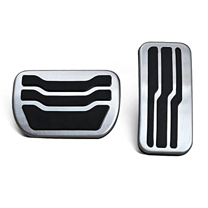 Gas Brake Pedal Cover For Ford Edge   No Drill Steel Foot Accelerator Kit