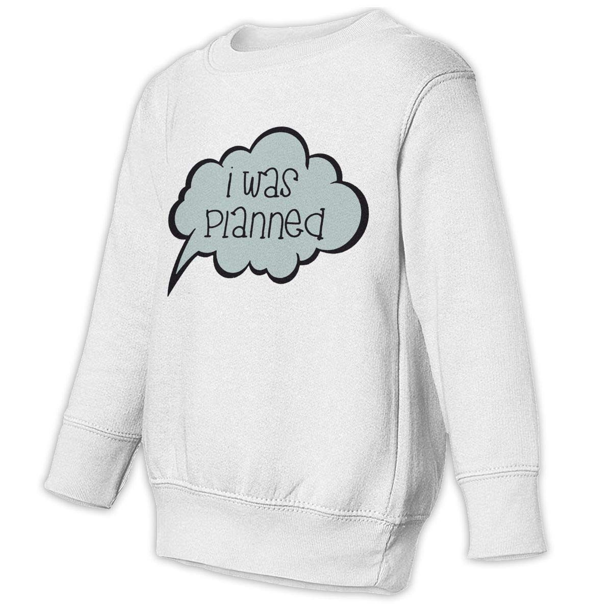 NMDJC CCQ Twins I was Planned Baby Sweatshirt Lovely Toddler Hoodies Comfortable T Shirts
