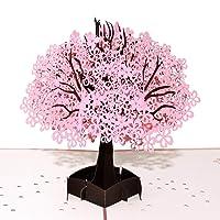 Deals on Baoby Jacaranda 3D Pop Up Handmade Greeting Card