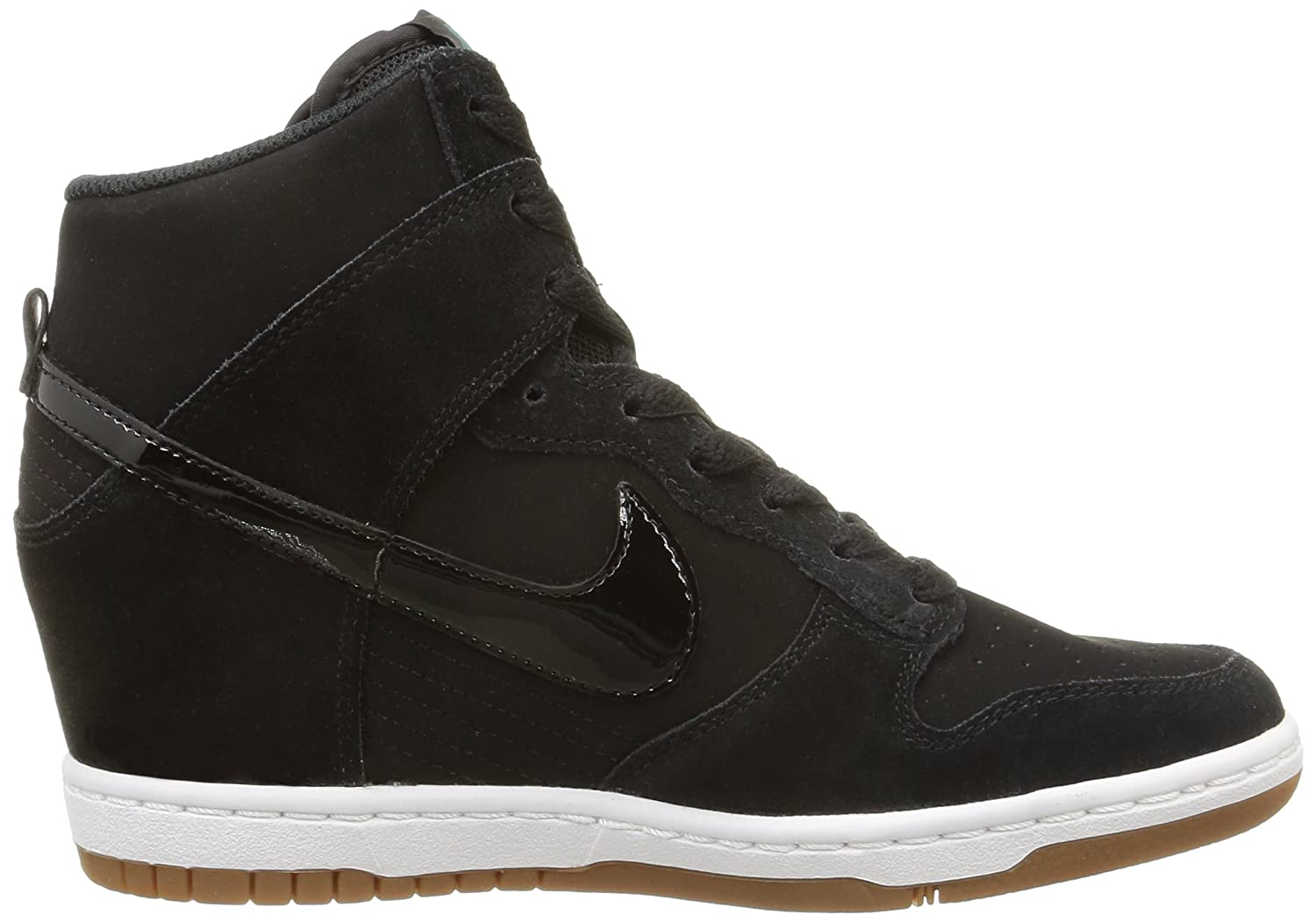 new product a9745 e1543 Amazon.com   Nike Dunk Sky Hi Essential 644877-011 Black Sail Gum Hidden Wedge  Women s Shoes (5.5 B(M) US)   Basketball