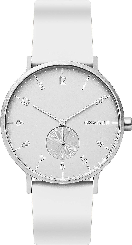 Skagen - Reloj de Cuarzo analógico Unisex con Correa de Silicona - SKW6520