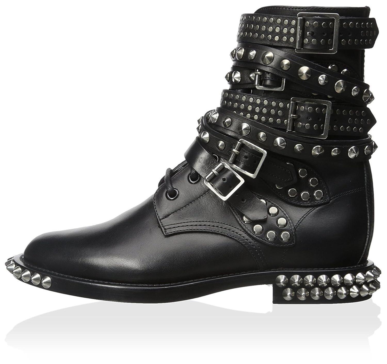 7b3287753bd Amazon.com | Saint Laurent Women's Rangers Boot, Black, 40 M EU/10 M US |  Ankle & Bootie