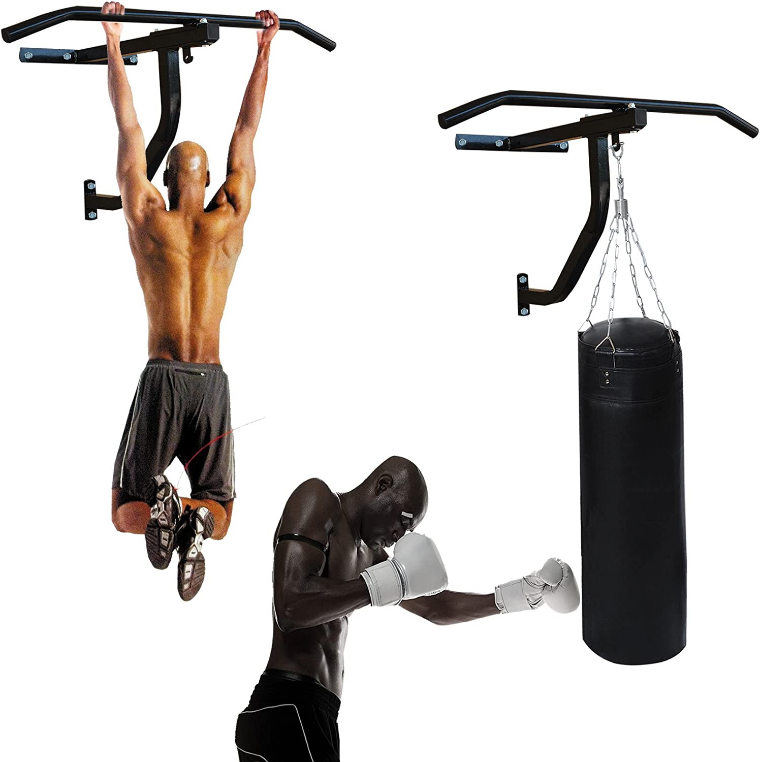 ONEX Punch Bag Pull Up Bar skipping Rope MMA Mauy thai Training Home//Gym Boxing Mitts Hand Gripper Punching Bag Hanger