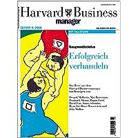 Harvard Business Manager Edition 4/2008: Managementtechniken: Erfolgreich verhandeln