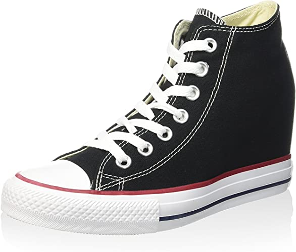 Converse All Star Mid Lux, Chaussures à Plateforme Mixte Adulte
