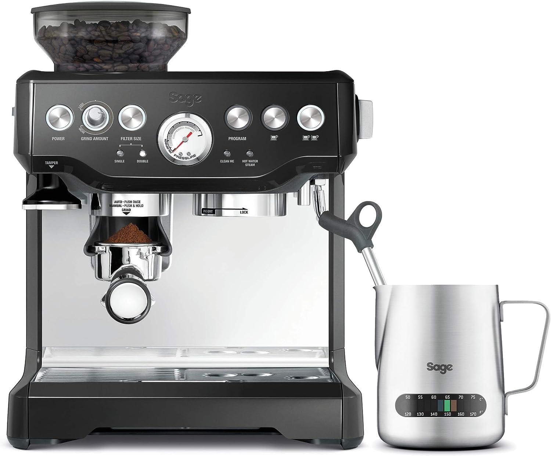 SAGE SES875 the Barista Express, Cafetera espresso, Cappuccinatore, 15 Bar, negro: Amazon.es: Hogar