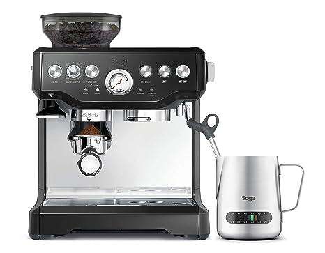 Sage Appliances Máquina de café espresso boquilla de espuma de leche Mit Mahlwerk negro brillante