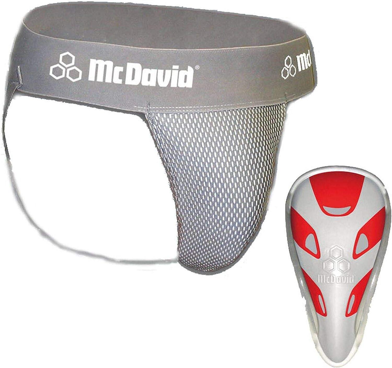 McDavid Suspensorium 3300 Mens Protective Cup grey Size:XL
