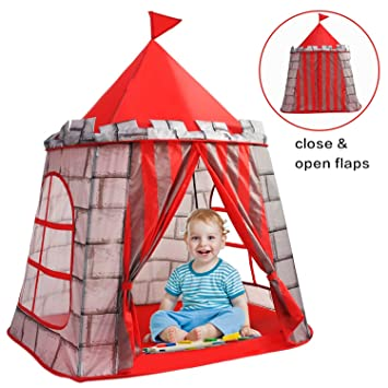 Yoobe Prince Castle Play Tent Your Kids Will Enjoy This Foldable Pop Up Play Tent Sc 1 St Amazon.com  sc 1 st  memphite.com & Pop Up Castle Play Tent u0026 GreEco Pop Up Foldable Mongolianyurts ...