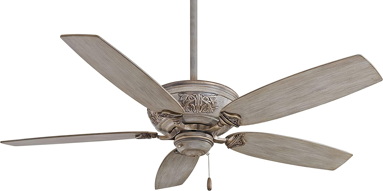 Minka Aire F659 Drf Classica 54 Inch Pull Chain Ceiling Fan In Driftwood Finish Amazon Com