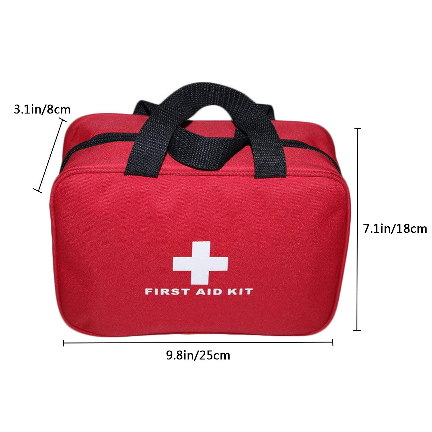 Camping & Hiking Trustful Empty Small 25*18*8cm Professional For Travel And Sports Emergency Survival First Aid Kit Medical Bag Campcookingsupplies