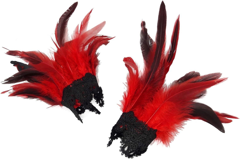 Zakia Women's Feather Cuffs...