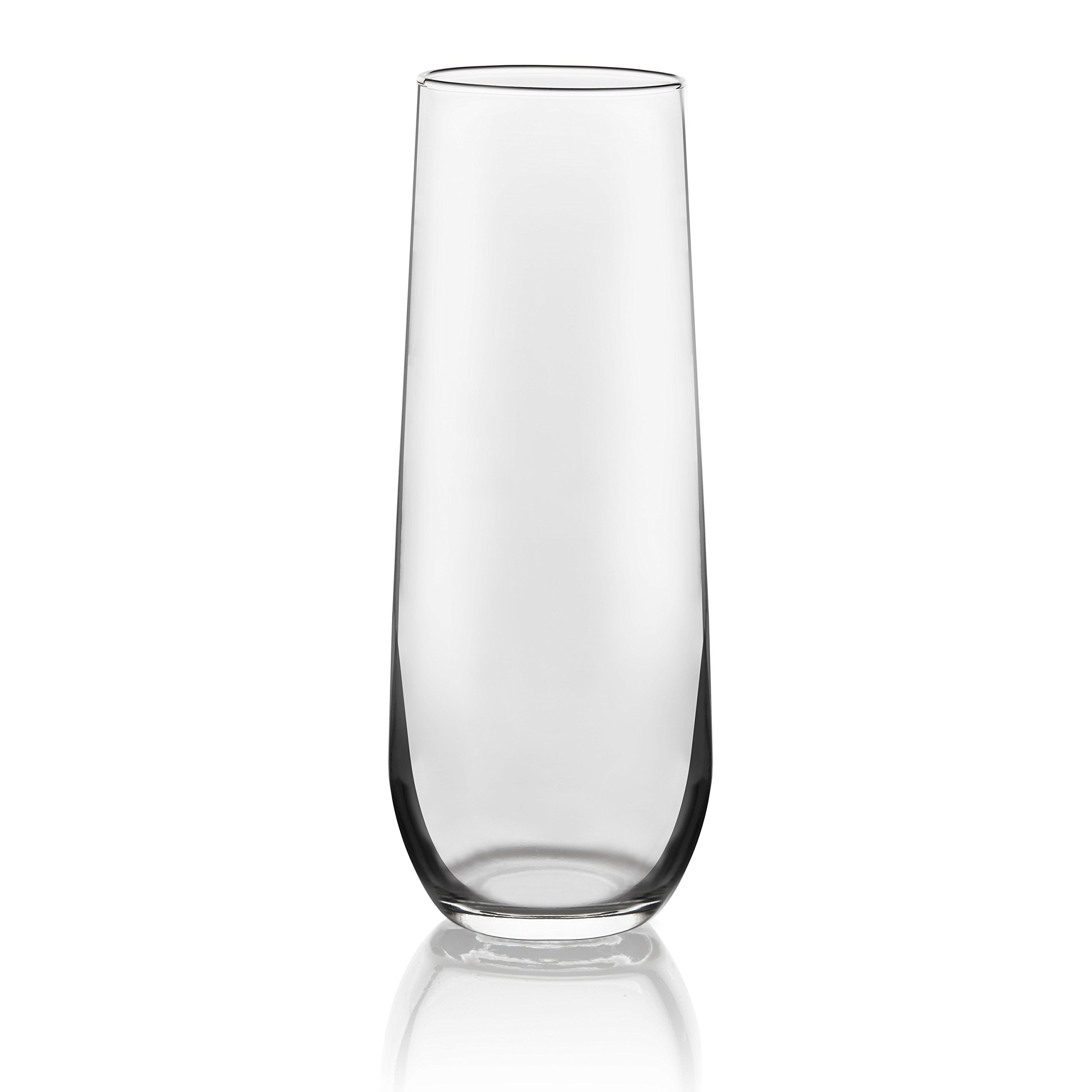 Libbey Stemless Champagne Flute Glasses, Set of 12 by Libbey (Image #2)