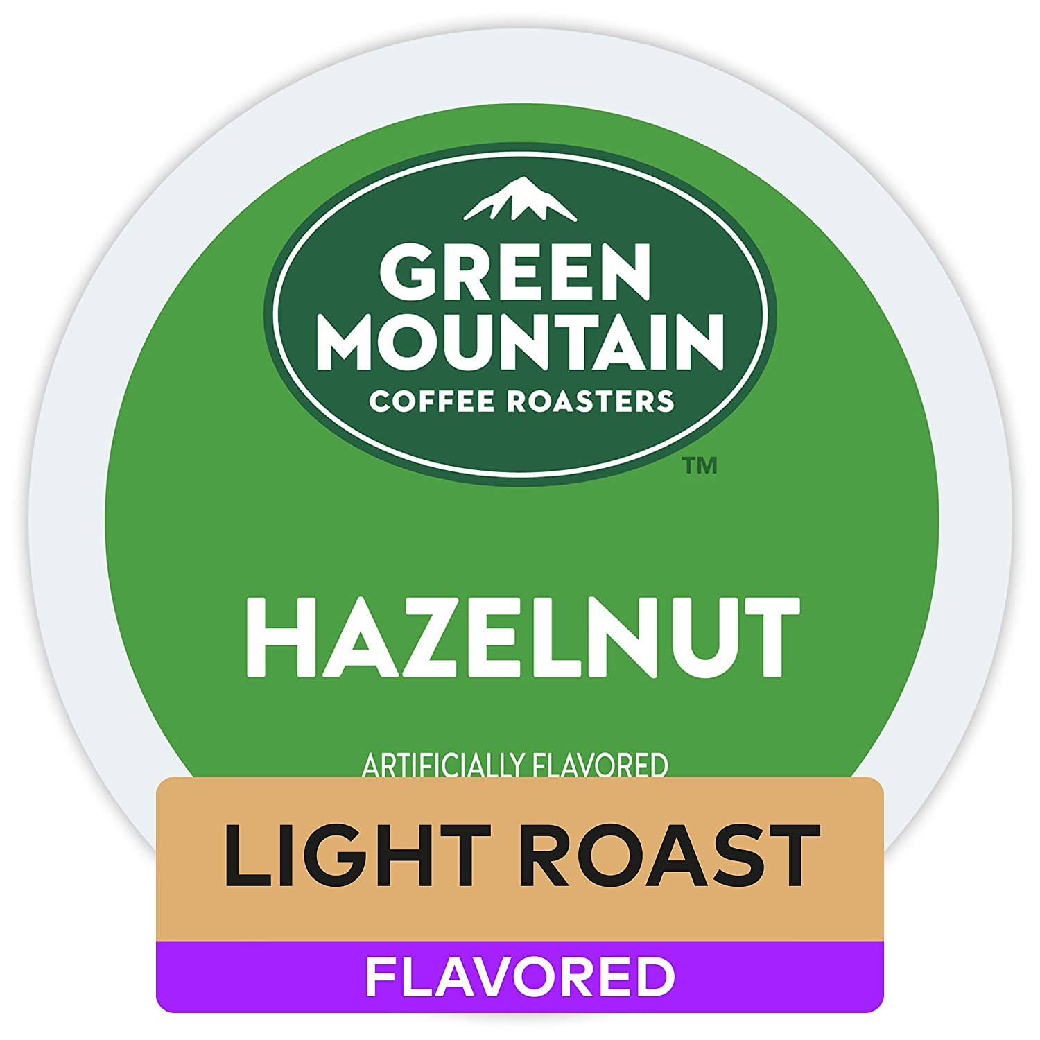 Green Mountain Coffee Roasters Hazelnut, Single Serve Coffee K-Cup Pod, Flavored Coffee, 32