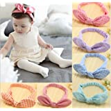 Baby's Headbands Girl's Cute Hair Bows Hair bands Newborn headband Pack of 6