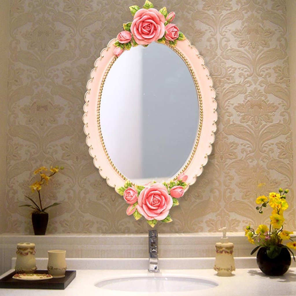 JIANPING Bathroom Mirror Dressing Room Mirror Beauty Salon Dressing Table Mirror Wall Mirror by JIANPING