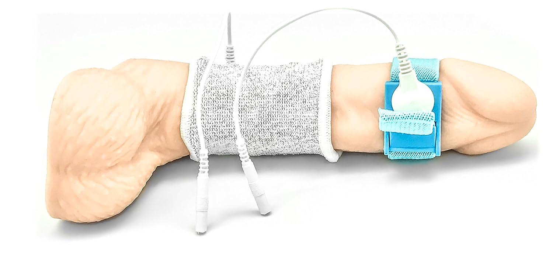 DR. ELECTRO ESTIM Elektro Socke für Penis oder Hoden, mit Penis ...