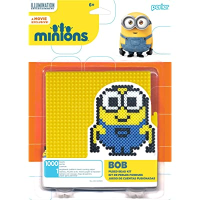Perler Beads 80-62980 Minions Perler Bob Activity Kit, Yellow: Arts, Crafts & Sewing