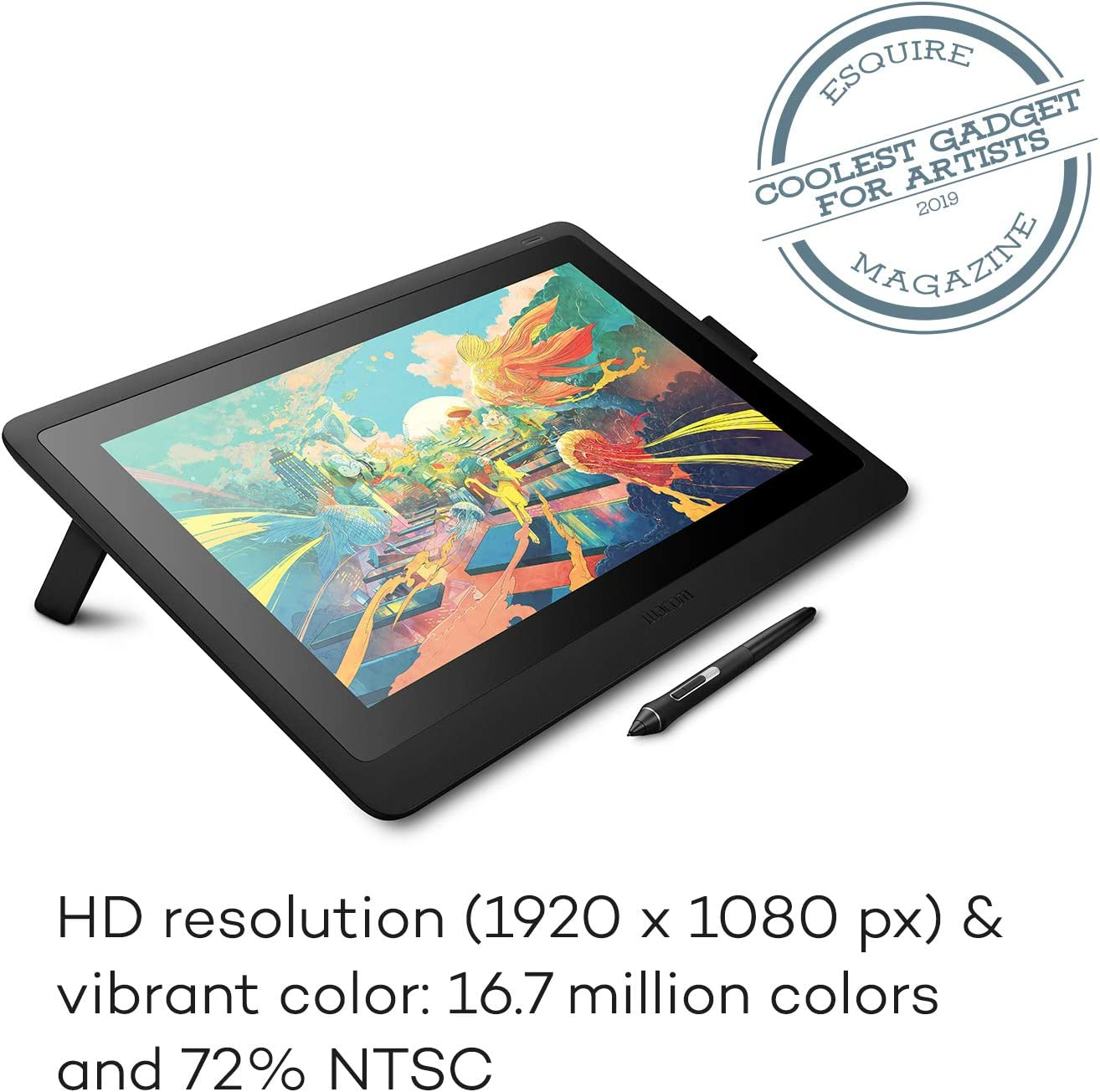 Wacom DTK1660K0A Cintiq 16 Drawing Tablet with Screen: Computers & Accessories