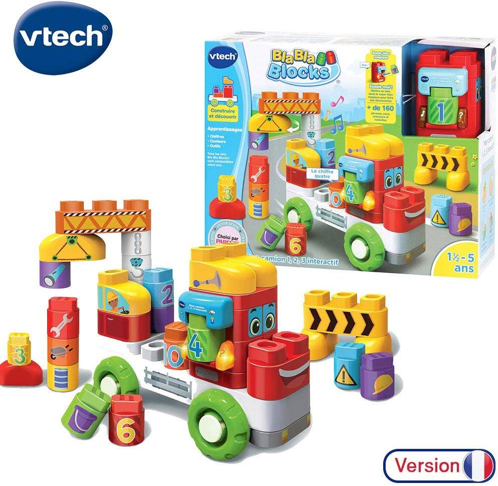 VTech Bla Bla Blocks Mon camion 1,2,3 interactif Niño - Juegos educativos (AA, 350 mm, 133 mm, 279 mm, 2,04 kg) , color/modelo surtido: Amazon.es: Juguetes y juegos