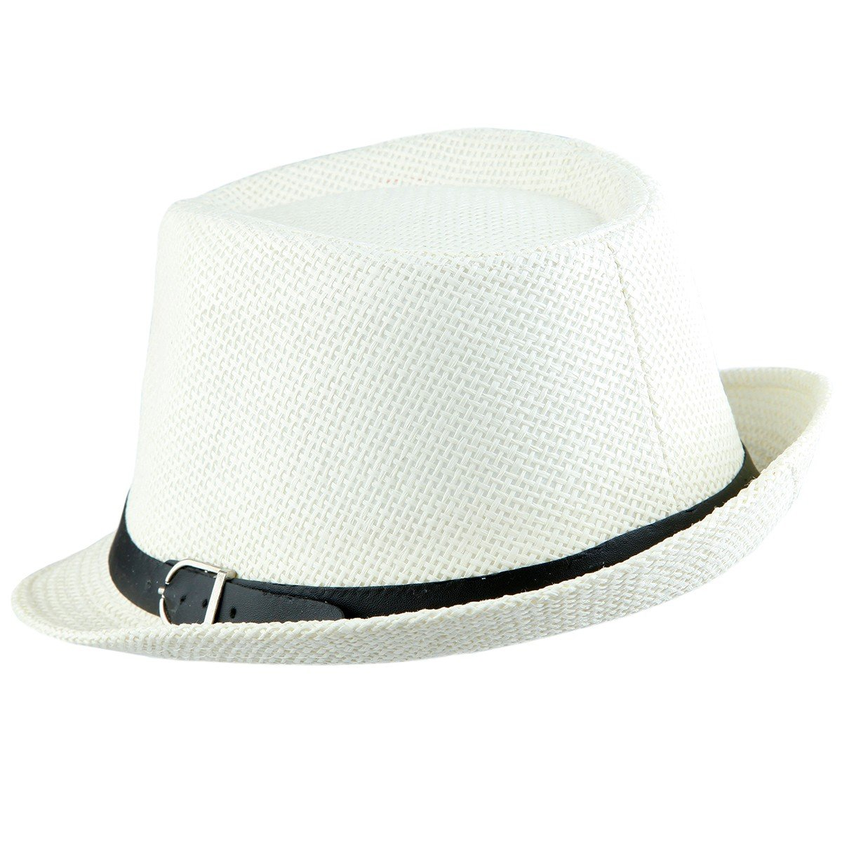 704ae8cc09cc84 Product description. Classic 4 colors knitted staw fedora hat for women men  ...