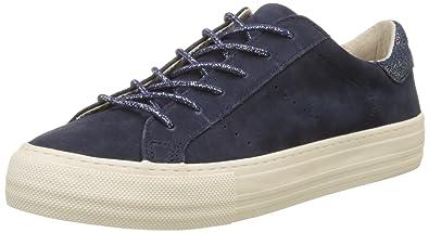 No Name Arcade Sneaker Goat Suede, Baskets Basses Femme, (Indigo Fox Dove), 37 EU