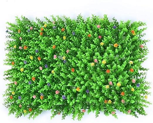 bouncevi Planta Artificial Jardín Decoración De Plástico Jardín ...