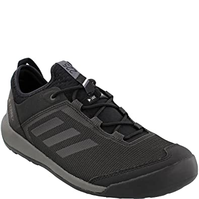 5e9e3472b5725 adidas outdoor Men's Terrex Swift Solo Utility Black/Black/Grey Four 9 D US