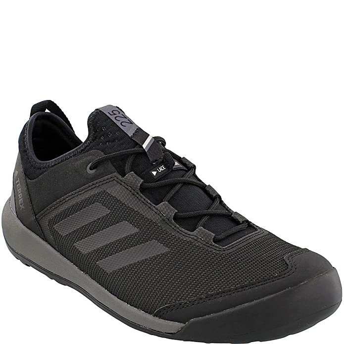 the latest 56602 c16cf Amazon.com   adidas outdoor Men s Terrex Swift Solo Utility Black Black Grey  Four 11 D US   Hiking Shoes