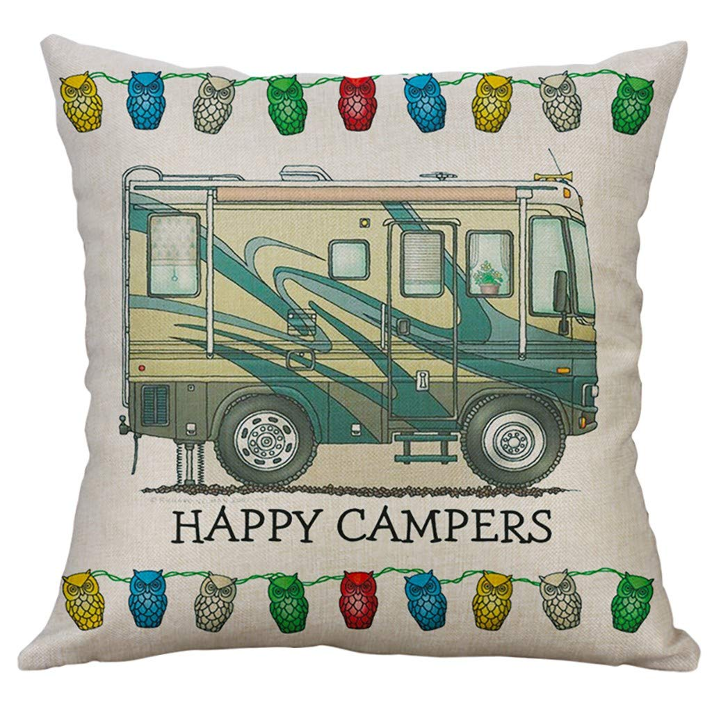 SFE Simple Linen Creative Lovely Pillow Cover Pillow Cover Car Pillow Cover