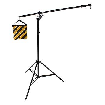 PhotoSEL STB14 - Trípode extensible de iluminación ...