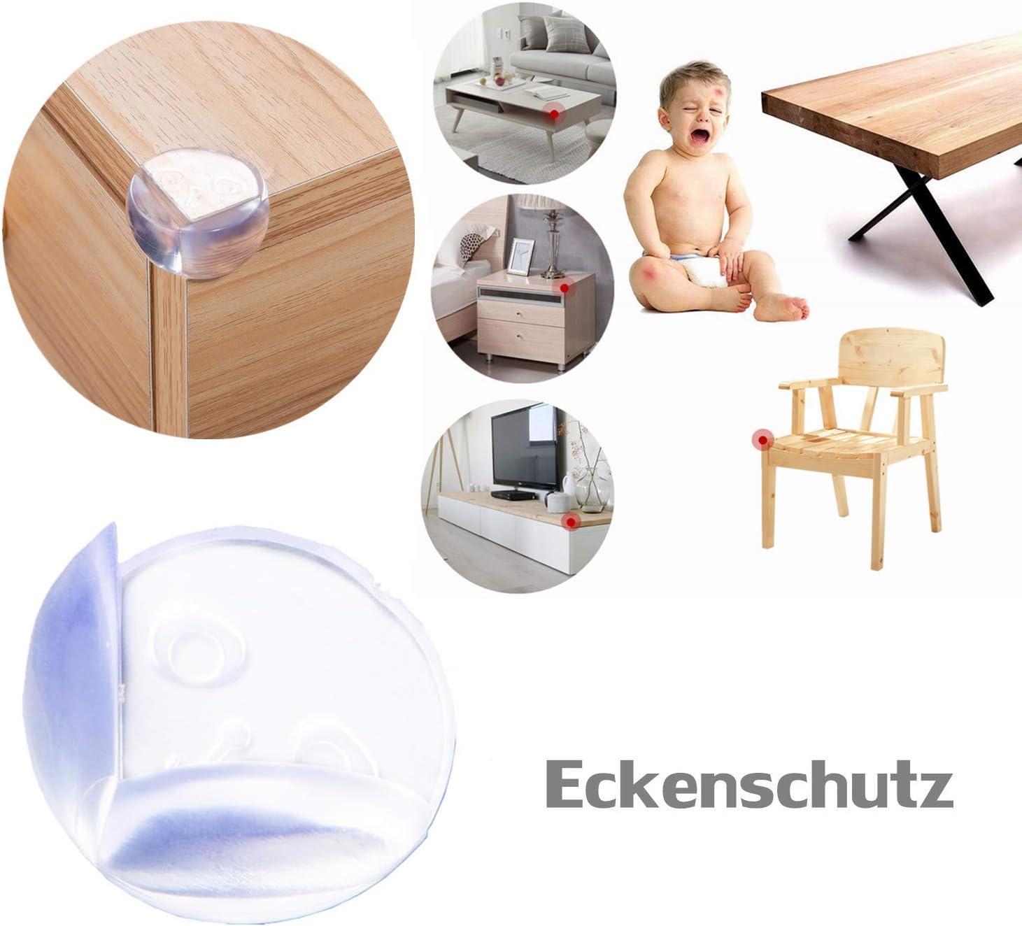 Juego de seguridad infantil para armarios y puertas de coche 12 unidades 03 Talla:Normal