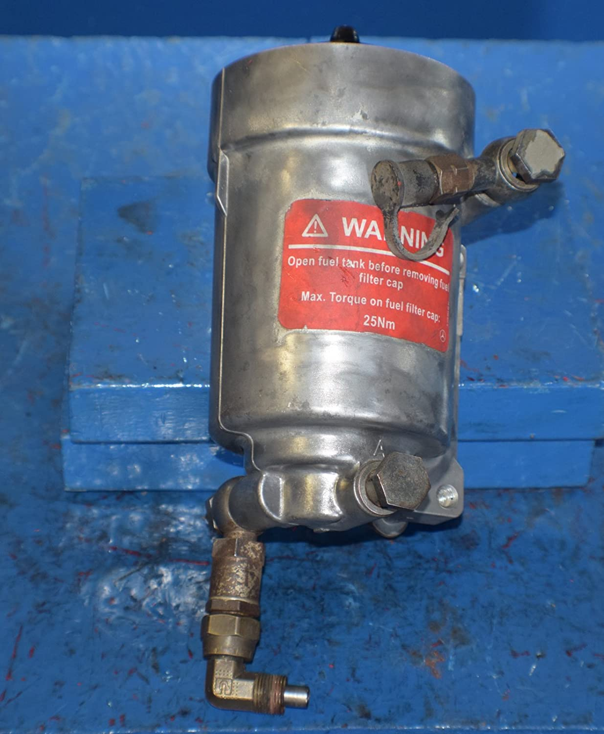 Mercedes Mbe4000 Engine Fuel Filter Base A5410920503 No Cap Core 4481 Everything Else