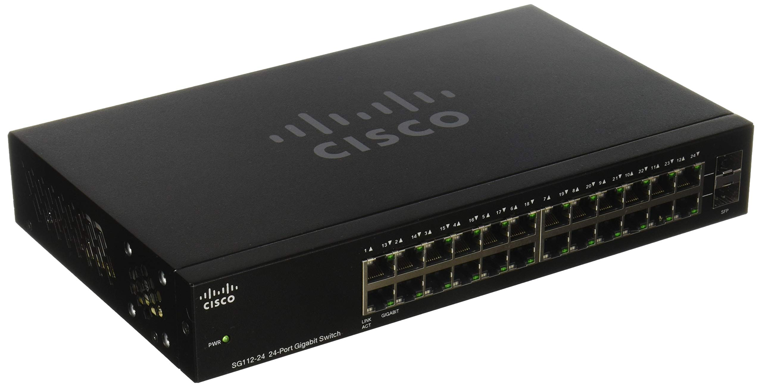 CISCO SYSTEMS 24-Port Gigabit Switch (SG11224NA) by Cisco Systems