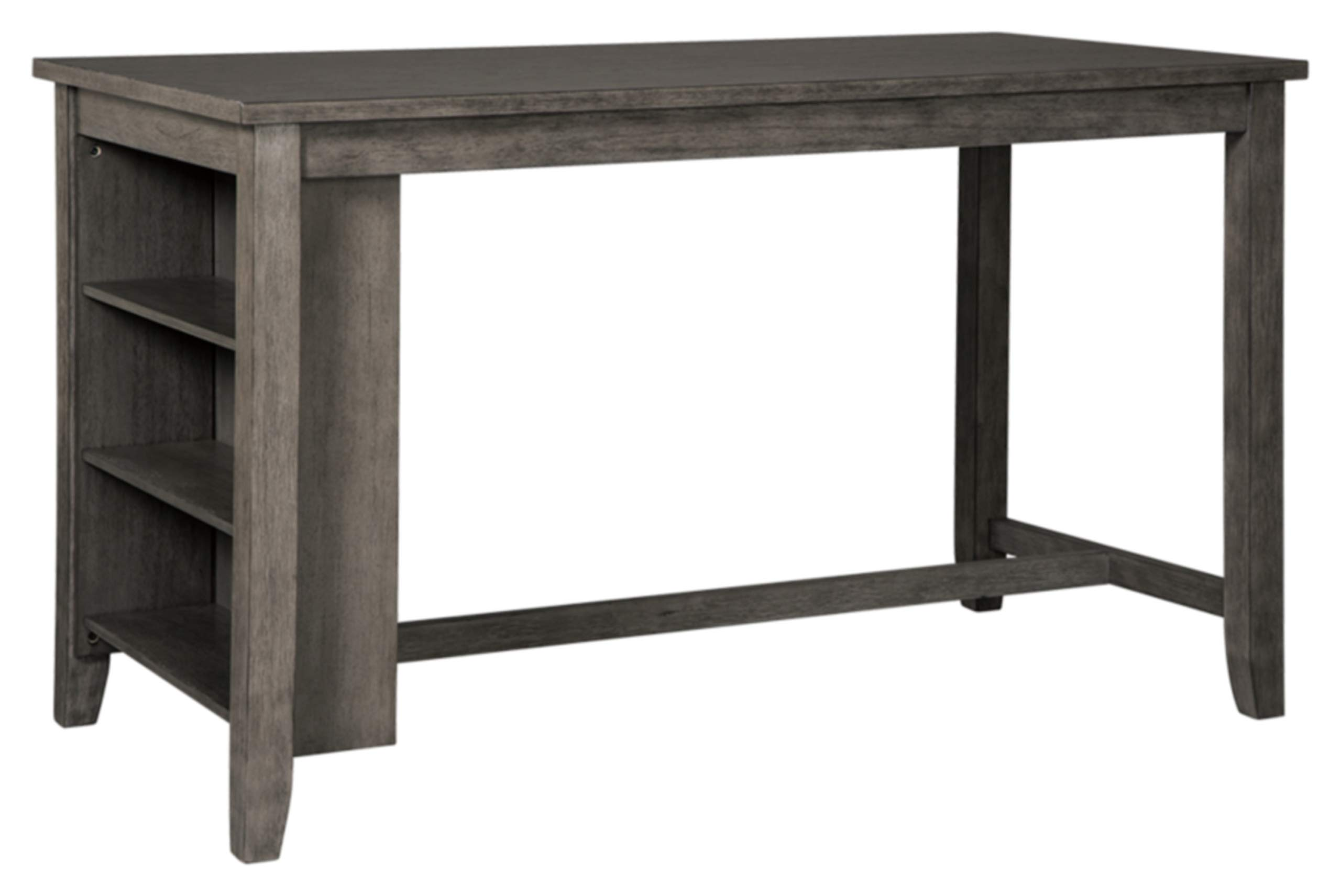 Signature Design by Ashley Caitbrook Rectangular Dining Room Counter Table, Dark Gray by Signature Design by Ashley