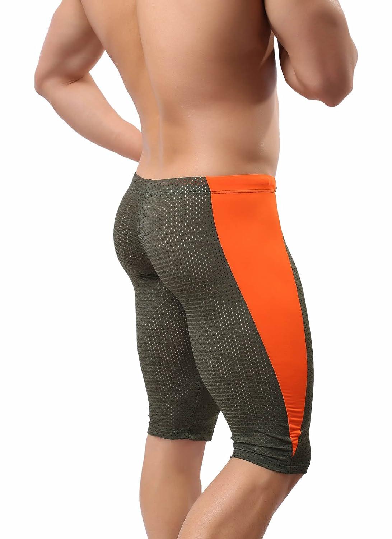 Brave Person 40 Nylon Mesh Tight Medium Pants Running Fitness Leisure Yoga Pants